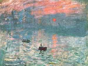 Impression: soleil levant Claude Monet