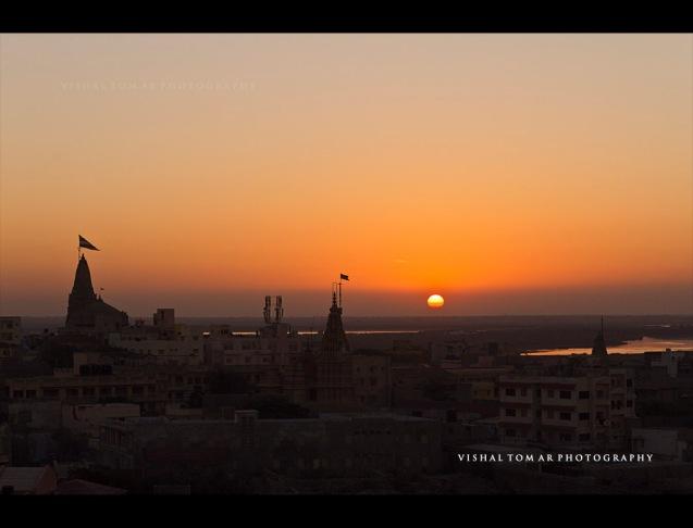 Dwarka skyline.