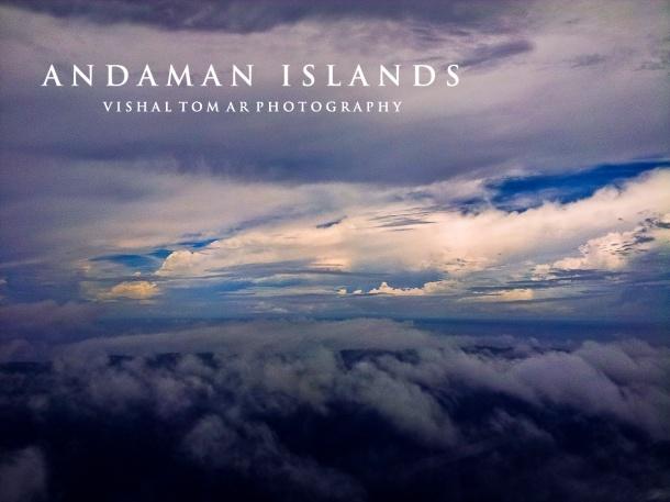 flight view of Andaman.